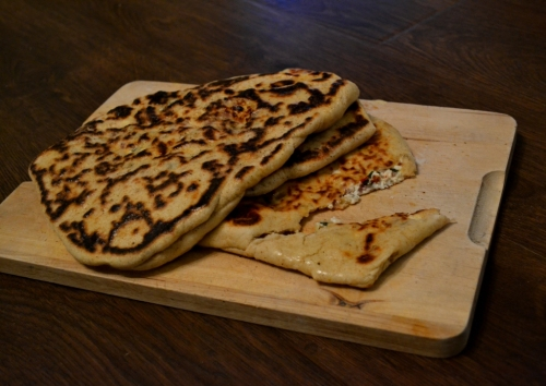 Stuffed Naan Breads