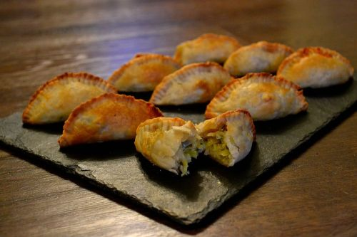 Leek, Blue Cheese and Brussels Sprout Mini-Pasties