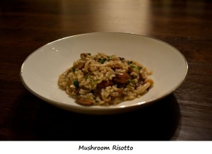 Day 5 Dinner - Mushroom Risotto